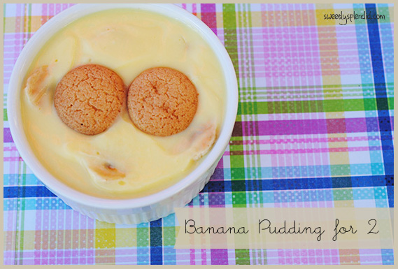Banana Pudding for 2