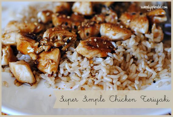 Super Simple Chicken Teriyaki