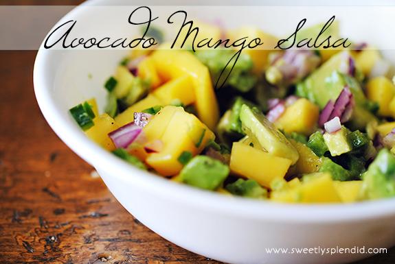 Avocado Mango Salsa 4