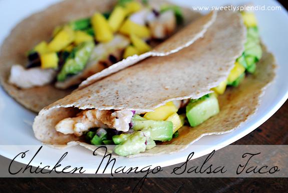 Chicken Mango Salsa Taco11
