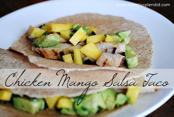 Chicken Mango Salsa Taco13