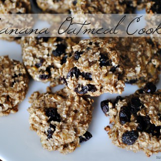 Super Simple Series: Banana Oatmeal Cookies