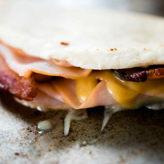 Smoked Turkey Pepper Jack Quesadilla