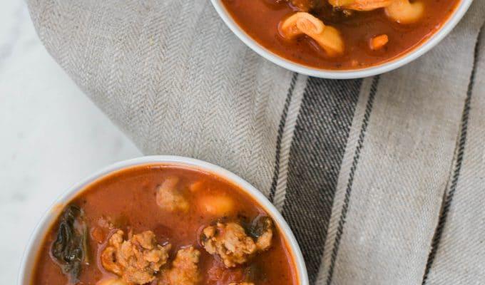 Tortellini Tomato Florentine