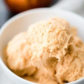 Sweetly Splendid - Pumpkin Spice No-Churn Ice Cream
