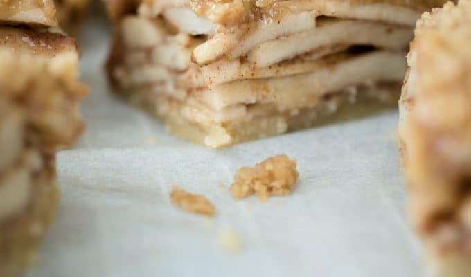 Loaded Apple Pie Squares
