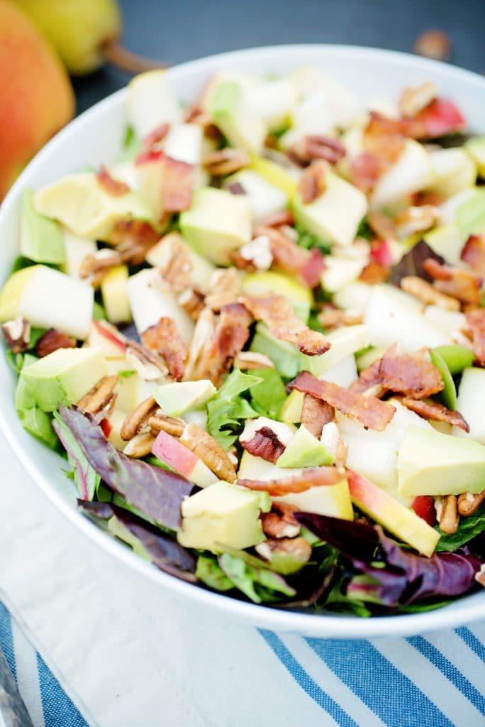 End of Summer Salad - Sweetly Splendid