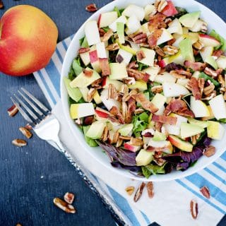 End of Summer Salad - Sweetly Splendid