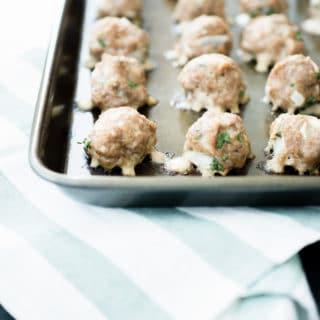 Sweetly Splendid - Oven Baked Turkey Meatballs