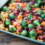 Sweetly Splendid - Honey Roasted Vegetables with Cranberries and Pecans