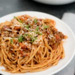 Sweetly Splendid - IP Spaghetti with Meat Sauce