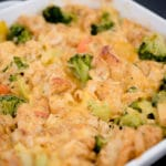 Cheesy Chicken & Veggie Bubble Up - Sweetly Splendid