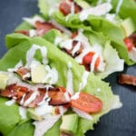 Sweetly Splendid - Chicken Club Lettuce Wraps