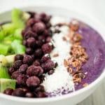 Sweetly Splendid - Blueberry Banana Smoothie Bowl