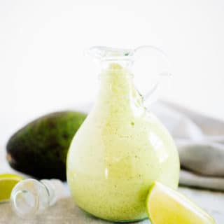 Avocado Cilantro Dressing - Sweetly SplendidAvocado Cilantro Dressing - Sweetly Splendid