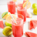 Boozy Watermelon Slush - Sweetly Splendid