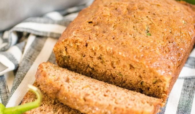 Green Chile Zucchini Bread