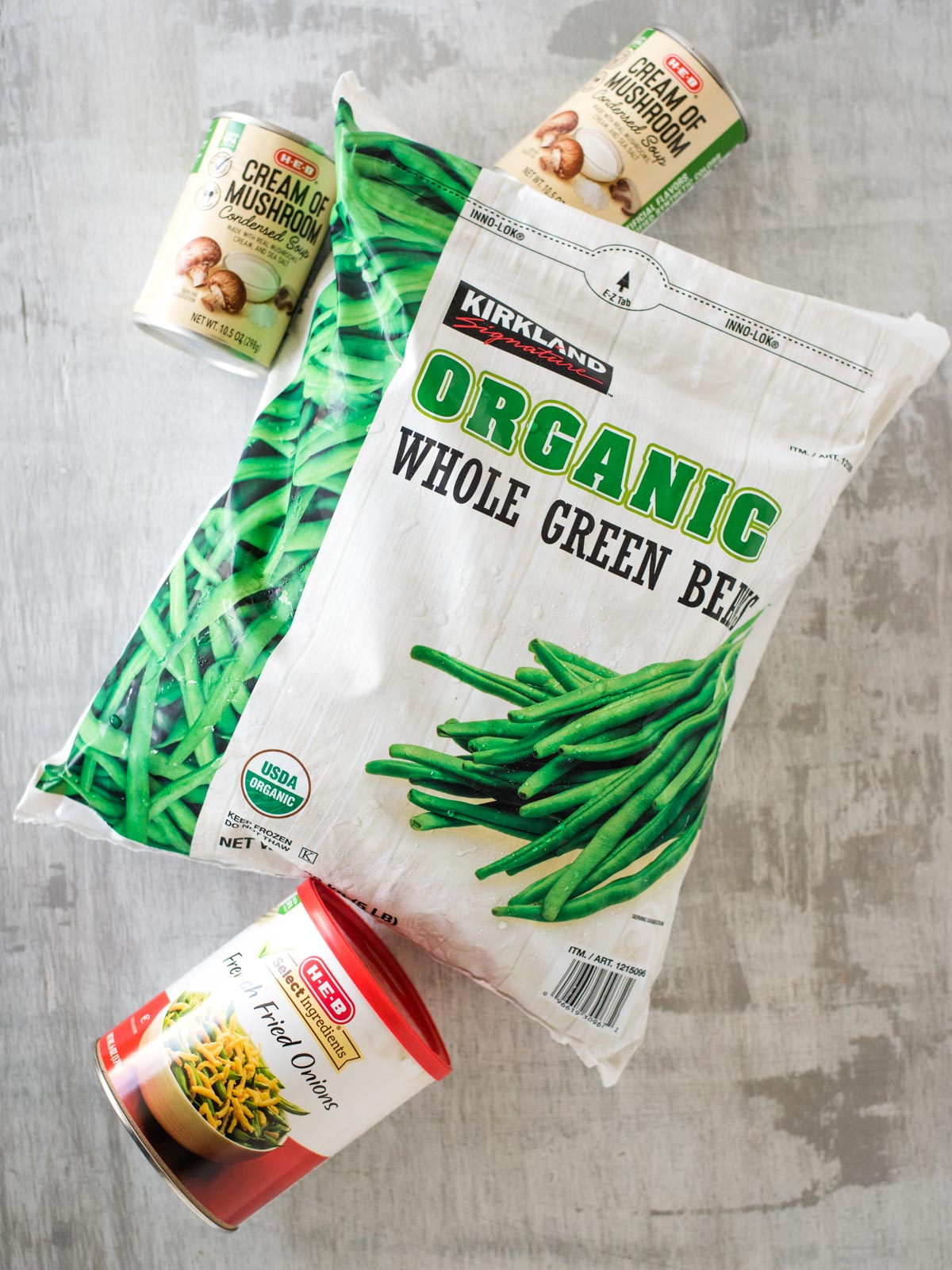 ingredients for instant pot green bean casserole