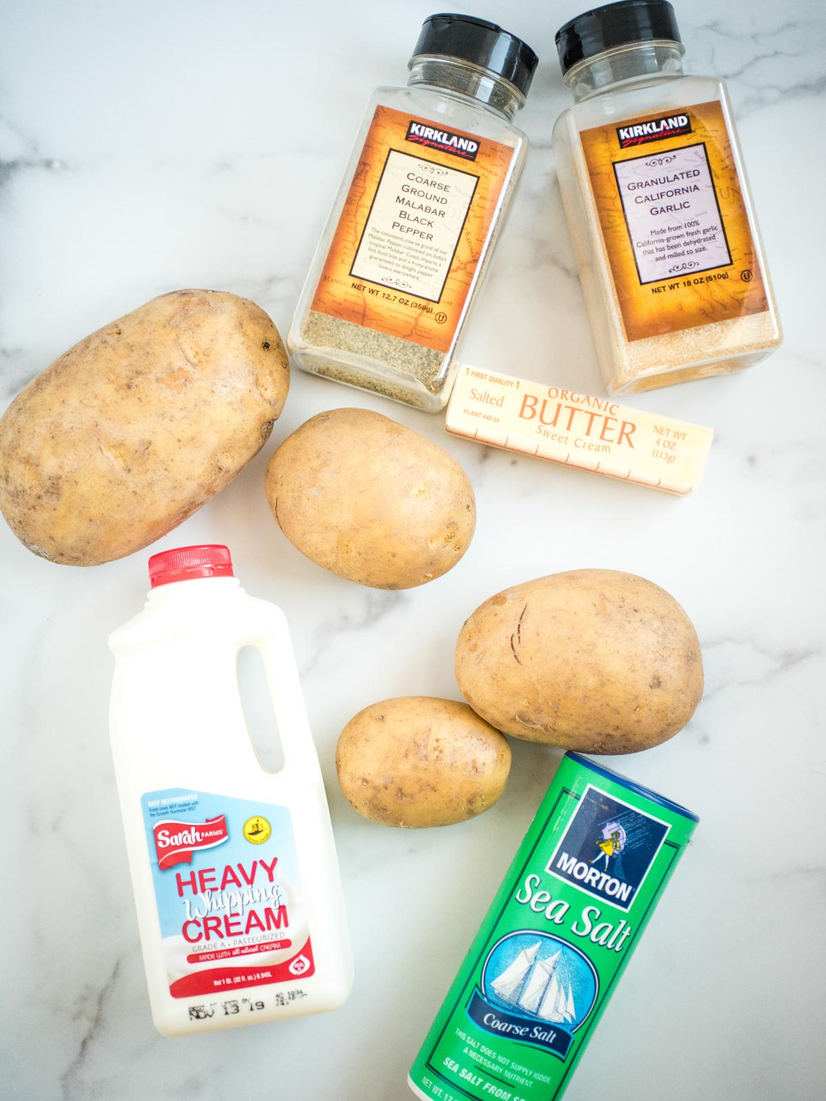 ingredients for instant pot mashed potatoes