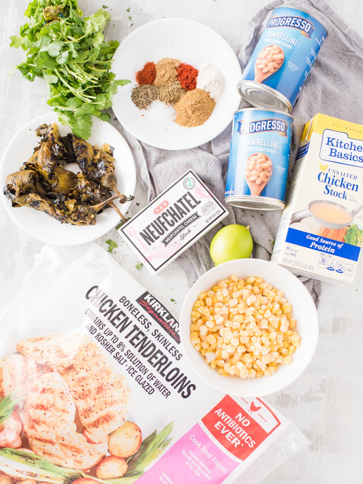 ingredients for instant pot white chicken chili