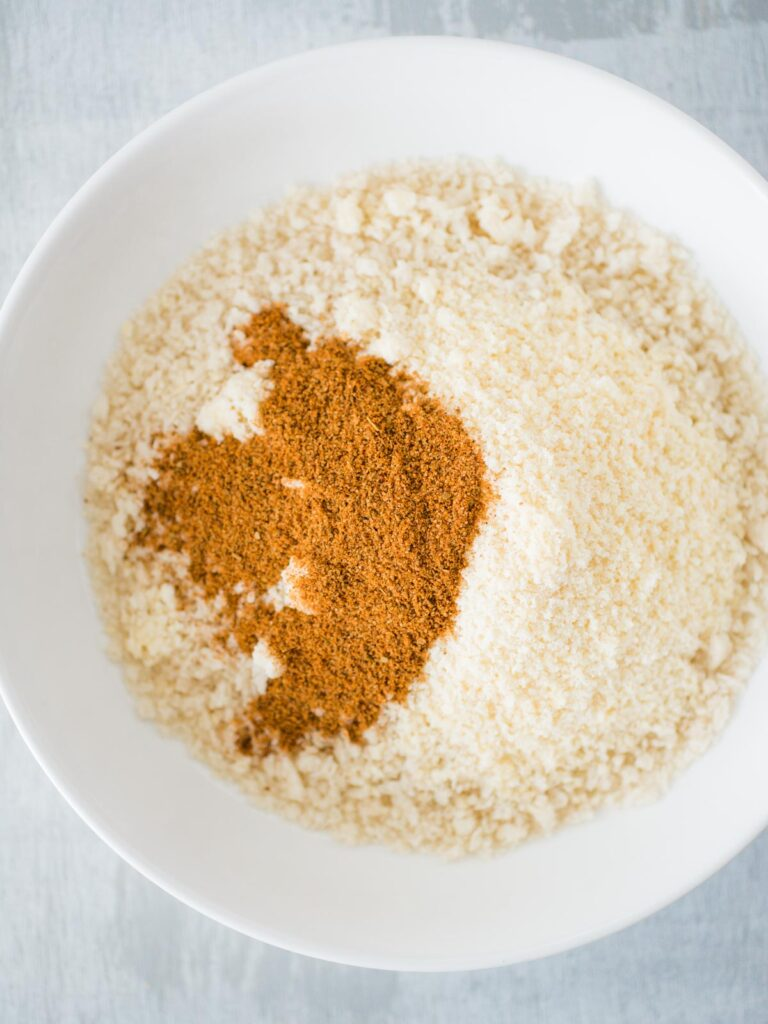 panko breadcrumbs mixed with seasonings