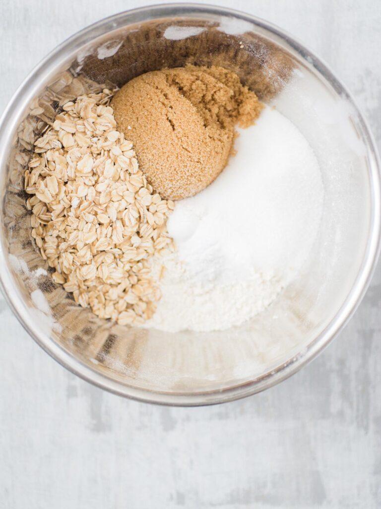 Chocolate Rice Krispies Cookies ingredients