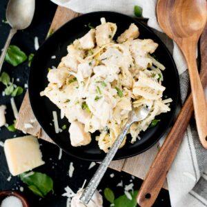 creamy one-pot chicken alfredo