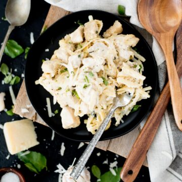 creamy one-pot chicken alfredo