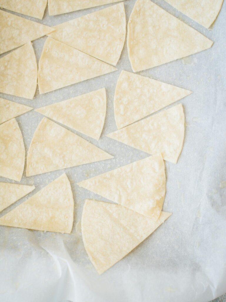 tortillas with salt