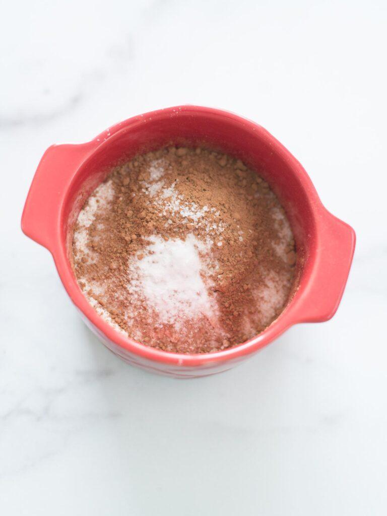 salt added to mug