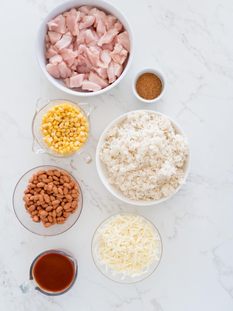 ingredients for mexican rice casserole