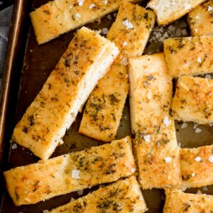 parmesan garlic breadsticks
