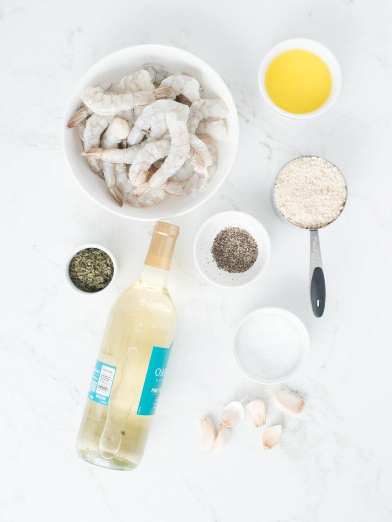baked shrimp scampi ingredients